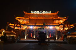 thean hou的寺庙 免版税库存图片