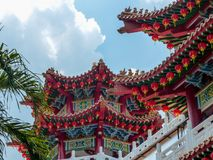 Thean Hou Chinese Temple Kuala Lumpur Stock Photos