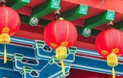 Thean Hou tempel arkivfoto