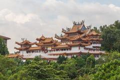 Thean Hou tempel i Kuala Lumpur royaltyfri foto