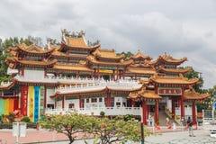 Thean Hou tempel i Kuala Lumpur arkivbild