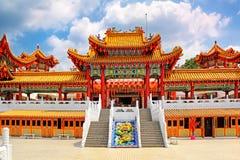 Thean Hou tempel i Kuala Lumpur Malaysia royaltyfria bilder