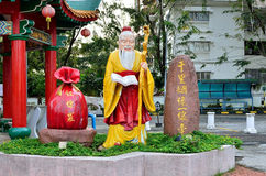 Thean Hou Temple Kuala Lumpur. Buddha statues which is located at the Thean Hou Temple stock photography
