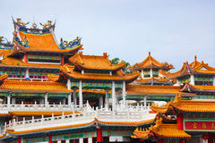 Thean Hou Temple at Kuala Lumpur Malaysia Royalty Free Stock Images