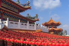Thean Hou Temple Kuala Lumpur, Malaysia. stock images