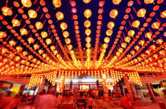 Thean Hou Temple Kuala Lumpur Royalty Free Stock Images