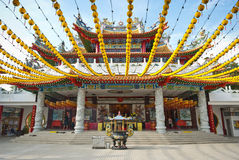 Thean Hou Temple, Kuala Lumpur  The Thean Hou. Temple is a landmark six-tiered Chinese temple in Kuala Lumpur Stock Image
