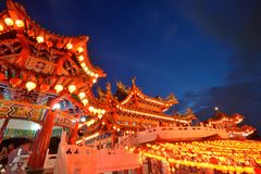 The Thean Hou Temple, Kuala Lumpur Royalty Free Stock Photography
