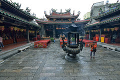 Thean Hou Temple in Lukang Stock Images