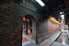 Thean Hou Temple in Lukang Stock Photo