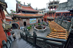 Thean Hou Temple in Lukang Stock Photos
