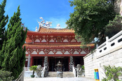 Thean hou temple , mazu temple in meizhou. Fujian , china , mazu is a famous sea-god in chinese culture Royalty Free Stock Images