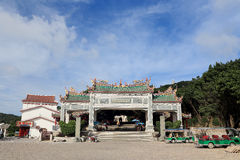 Thean hou temple , mazu temple in meizhou Stock Images