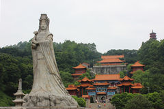 Thean Hou Temple. Nansha Thean Hou Temple is located in Guangdong Province, Guangzhou City, Nansha District, china Stock Photos