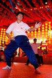 Thean Hou Temple Tai Chi Chuan 2012 Stock Images