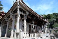 Thean houtempel, mazutempel i meizhou Royaltyfria Bilder