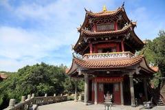 Thean houtempel, mazutempel i meizhou Royaltyfri Foto
