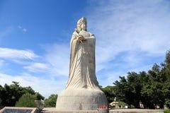 Thean houtempel, mazutempel i meizhou Fotografering för Bildbyråer