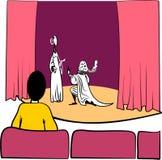 Theater Royalty-vrije Stock Foto's