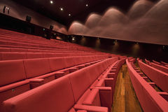 Theater. An empty and modern Theater Royalty Free Stock Image