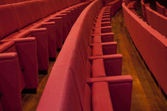 Theater. An empty and modern Theater Royalty Free Stock Images
