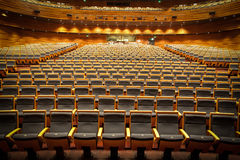 Theater. Big scene in the theater Royalty Free Stock Photography