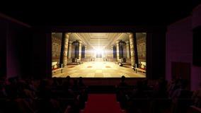 theater stock abbildung