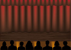 Theater. This image is a vector illustration and can be scaled to any size without loss of resolution. This image will download as an EPS file. You will need a Stock Photos