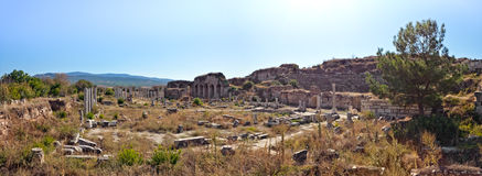 Theater - Aphrodisias Stockbild