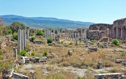 Theater - Aphrodisias Royalty-vrije Stock Foto