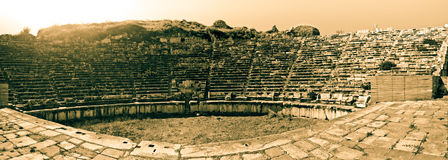 Theater - Aphrodisias Lizenzfreies Stockbild