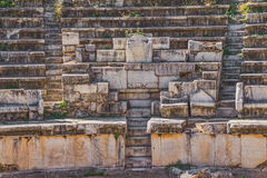 Theater - Aphrodisias Royalty-vrije Stock Fotografie
