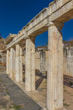 Theater - Aphrodisias Stockbilder