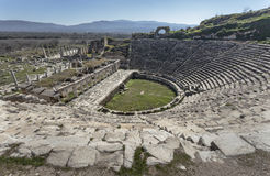 The theater in Aphrodisias Royalty Free Stock Image