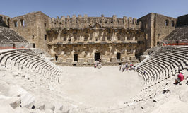 Theater of Aspendos Stock Image