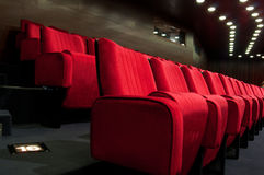 Theater auditorium Royalty Free Stock Photo