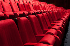 Theater auditorium Royalty Free Stock Photos