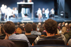 Theater auditorium Royalty Free Stock Photos