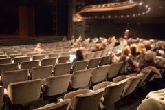 Theater auditorium Royalty Free Stock Photo