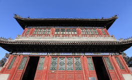 theater of Beijing summer palace Stock Photo