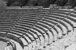 Theater at Bet She'an in Israel Stock Images