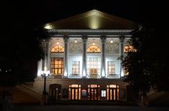 Theater bij Nacht Royalty-vrije Stock Foto's