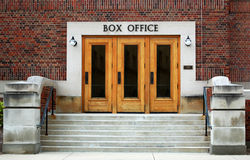 Theater box office Stock Images