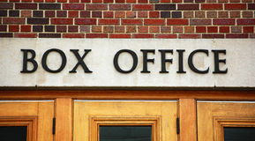 Theater box office sign Royalty Free Stock Photography