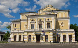 The theater building in Minsk Royalty Free Stock Images