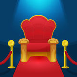 Theater Chair Royalty Free Stock Photo