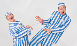 Theater characters - Criminals Royalty Free Stock Photos
