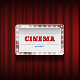 Theater or cinema background   Stock Images