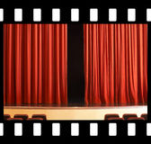 Theater, comedy, drama, never ends Stock Photo