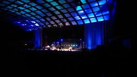Theater concert. Concierto por la noche de jazz stock photo
